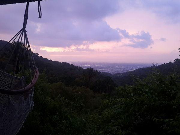 Puerto Vallarta Mexico Hola! View Hammock Rancho Chill Sunset Outdoors No People Merhaba Puerto Vallarta Mexico Hello World