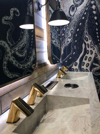 Mirror 😍🐙 Home Interior Pattern Illuminated Architecture Design No People Creativity Home
