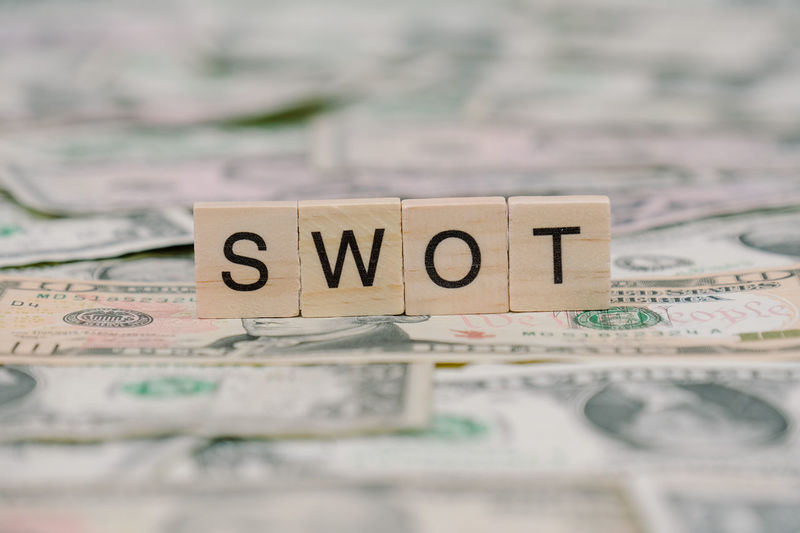 SWOT Business Business Finance And Industry Close-up Currency Finance Indoors  No People Paper Paper Currency Savings Selective Focus Swot Text Wealth