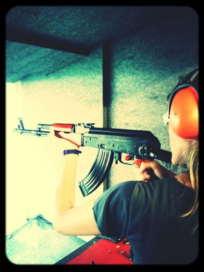 Very bad days That's Me Bad Day Bad Girl  Urban Life My Noir Life Weapons Guns Kalashnikov Rifle