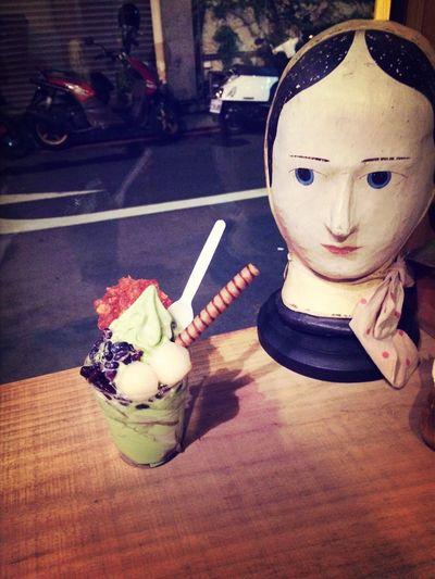 Ice Cream Matcha Green Tea (null)