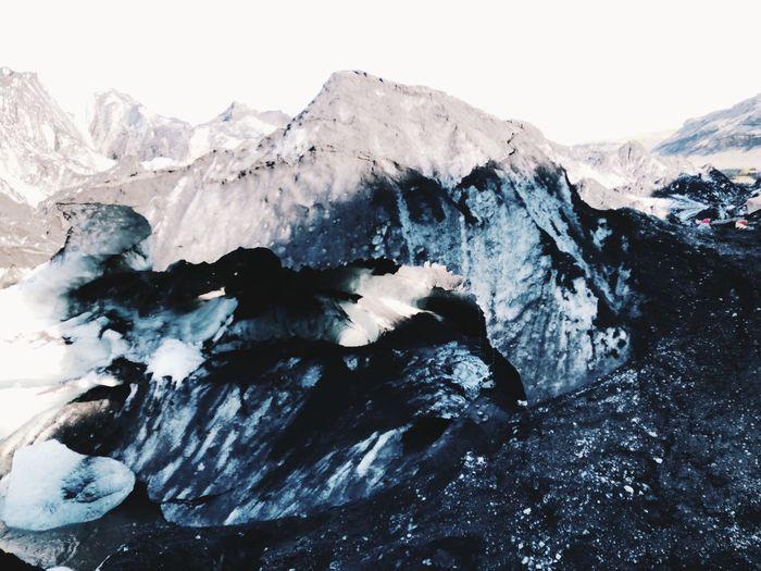 GLACIER Iceland Glacier Mountain Cold Temperature Winter Scenics - Nature Beauty In Nature Sky Environment Snow No People Landscape Non-urban Scene Snowcapped Mountain