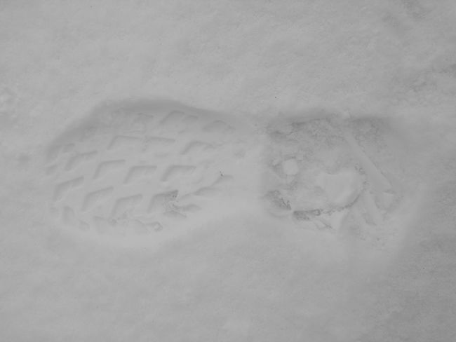 Backgrounds Textured  No People Close-up Track - Imprint Nature Day Snow Footsteps Footsteponthesnow