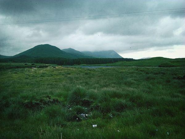 In the middle of the wild Ireland Leenane Connemara