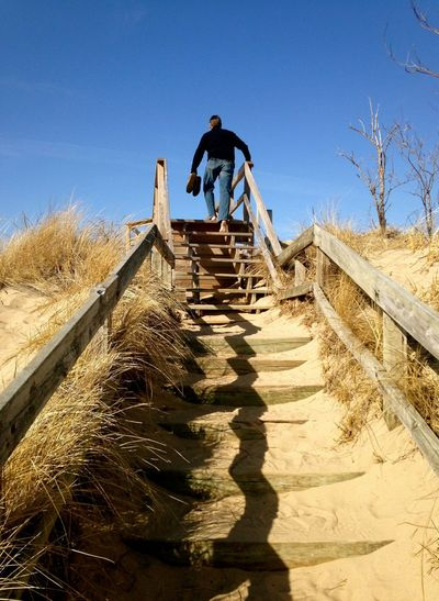 Michigan Lake Life Lake Michigan Beach Life Beach Sand Barefoot Spring Sunshine Stairs
