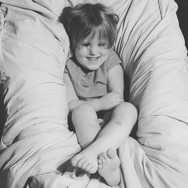 Goose's hammock. It's a hard baby life. Gwennie Goose Gwinning Enjoying Life No Edit Portrait Black And White Relaxing Girl Cute Cute Baby Mybaby❤ Showcase March The Portraitist - 2016 EyeEm Awards Girl Power From My Point Of View Samsungphotography Gwenniegoose