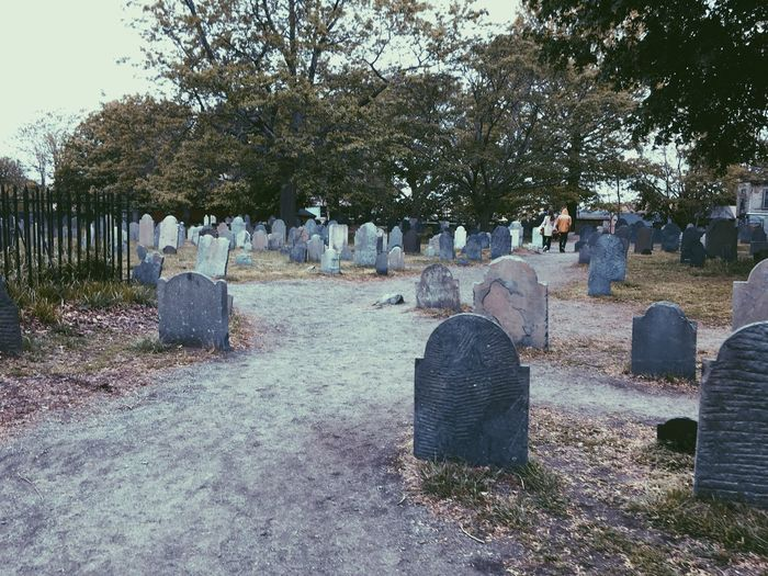 Salem, MA. Tombstone Cemetery Graveyard Gravestone Grave Outdoors Witches Salem, Ma. Mourn