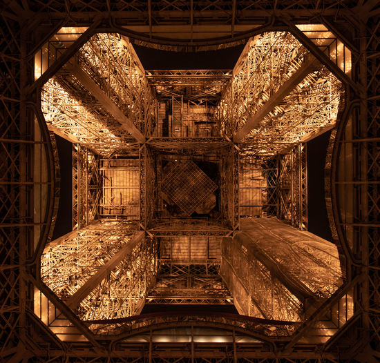 Indoors  No People Architecture Stack Ceiling Lighting Equipment Large Group Of Objects Built Structure Wood - Material Technology Arrangement Full Frame Travel Destinations Industry Metal Old Warehouse Abundance Wood Directly Below Eiffel Tower Paris France Tower Eiffel