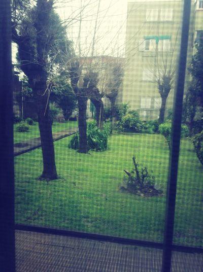 dia lluvioso en la ciudad
