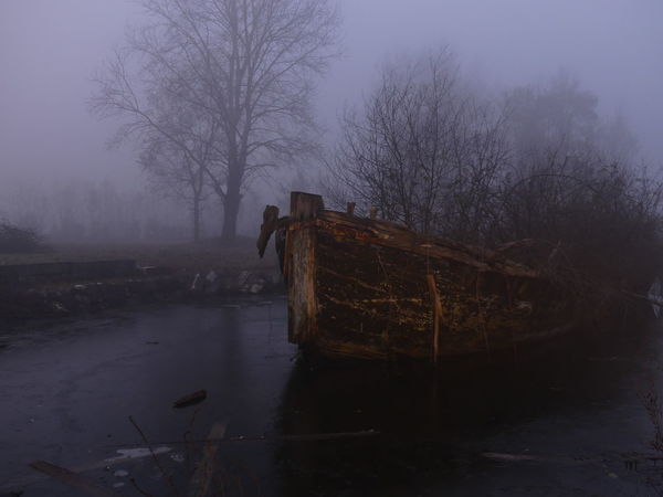 Acqua Beauty In Nature Fog Ghiaccio Light Painting Nature Nature Night No People Sky Winter