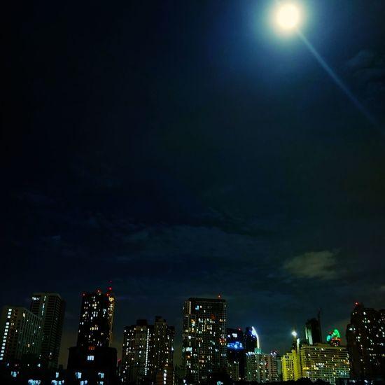 Nightphotography. Night Illuminated City Outdoors No People Sony Xperia Xz The Sim City 🏙
