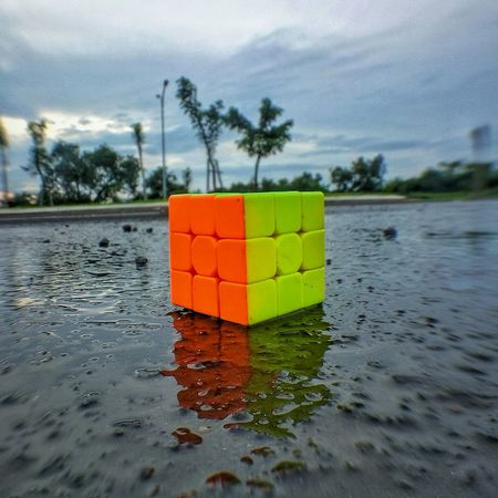 Rubik Cube Cúber Rubik's Cube Rubik's Life Close-up Museum Travel Destinations Travel Taking Photos Shot Photography Pico Picoftheday Portrait Cool Senja  Sports Photography Themes Photo Of The Day Angle Angles Angle View Angles And Lines Angles And Views Water Reflection Tree Cloud - Sky Day Shades Of Winter An Eye For Travel EyeEmNewHere