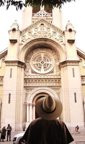 No sé de composición Col. Roma Mexico City Church Iglesia Tarde  Sombrero People Urban Life