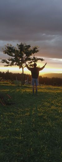 give him the praise Praise The Lord Sunset People And Nature Nature Skyline july 2012