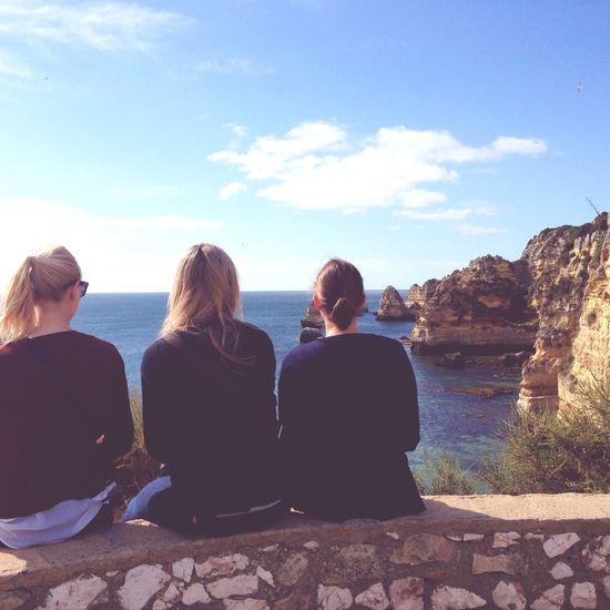 Ocean View Ocean Portugal Lagos Meer Mare Love Life Is A Beach Girls