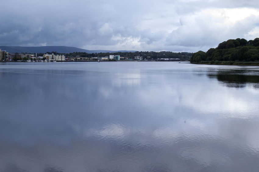 City Cityscape Derry Ireland Londonderry Openwater Stunning Wide Shot
