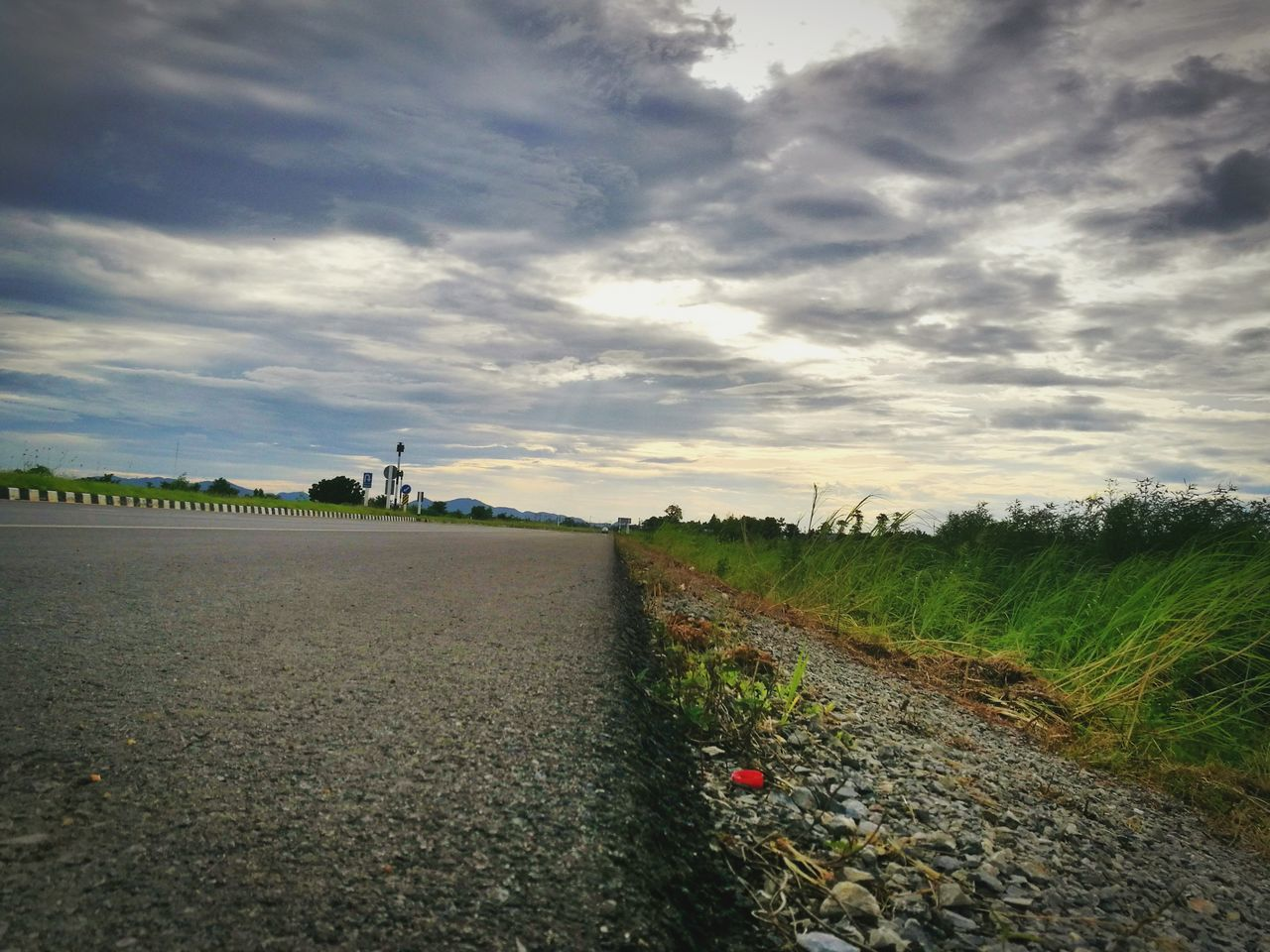 road, the way forward, sky, cloud - sky, landscape, grass, no people, field, day, transportation, tranquil scene, tranquility, nature, outdoors, scenics, rural scene, beauty in nature