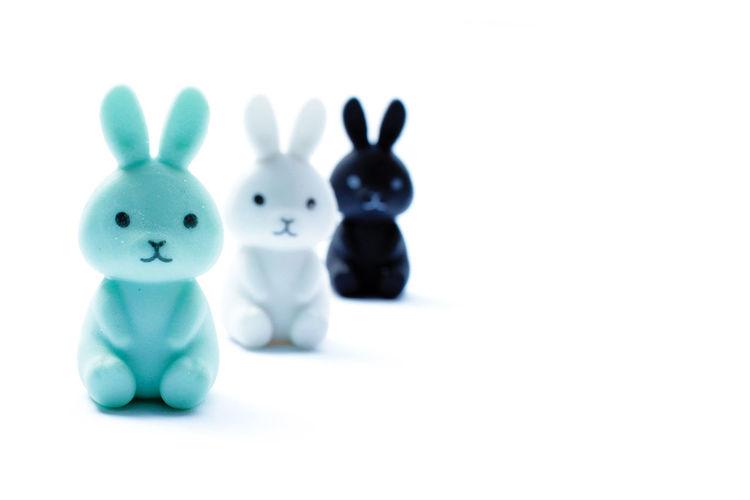 Bunny erasers
