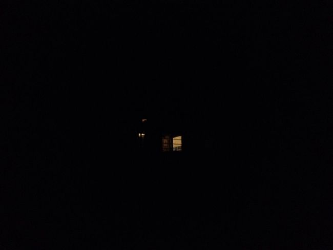 Night Building Exterior Dark House Outdoors Residential District Light