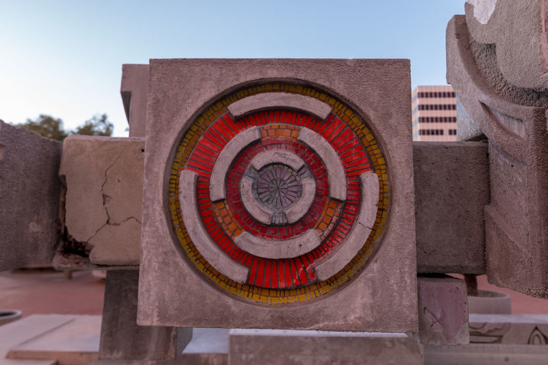 Accuracy Architecture Art And Craft Building Exterior Built Structure Circle Close-up Concentric Day Geometric Shape History Nature No People Ornate Outdoors Pattern Shape Sky The Past Travel Travel Destinations Wall - Building Feature