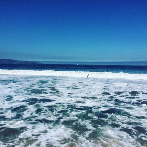 Beautiful Day Enjoying The Beach Capturing Freedom Beach Photography Waves, Ocean, Nature Beautiful Nature Eye Em Nature Lover Sea And Waves Blue Sea Pacific Ocean Relaxing Blue Sky Life Is A Beach From My Point Of View This Is Where I Live... Shades Of Blue