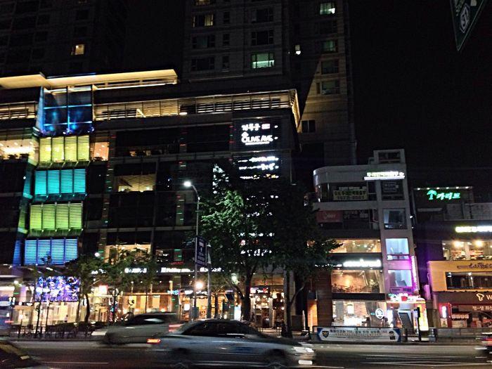 Sadang Seoul Building Night