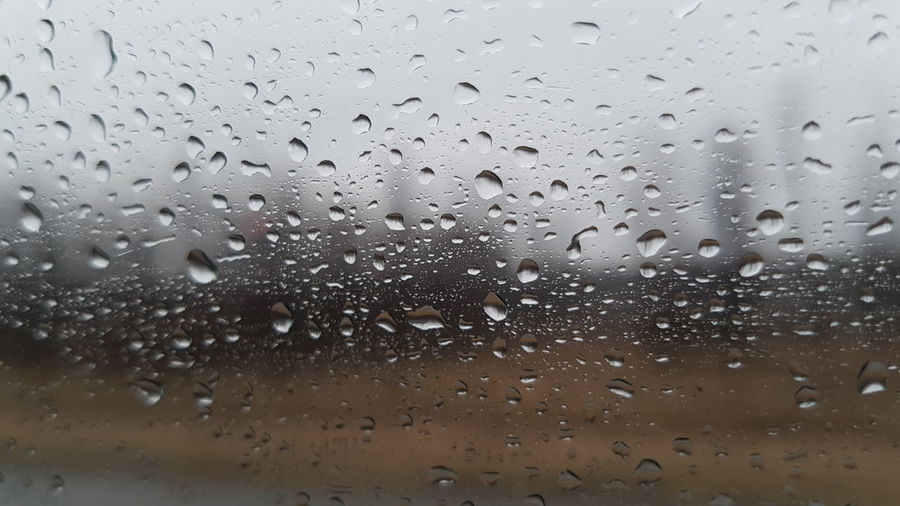 Backgrounds Close-up Day Drop Freshness Indoors  Nature No People RainDrop Sky Water Wet Window