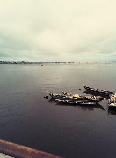 Boats Africa Fishermen