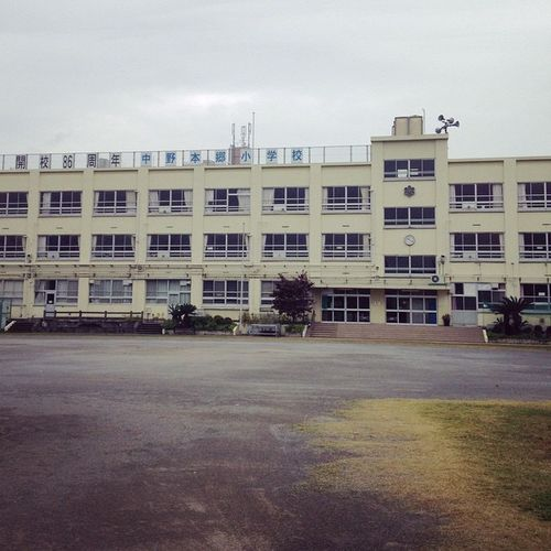 小学校 本郷小学校 我が母校ですよ…??中野の小学校も少子化に伴い統合の嵐ですが…まだ生き残ってる。創立86周年だそうな?