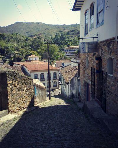 Ouropreto Ruas De Ouro Preto Historical Place MG  Arquitecture