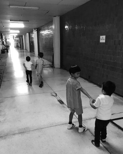 Cousins  Explorers Boys Walking Alley Siam Square Scala Lifestyles ThaiLocal EyeEm Thailand Childhood