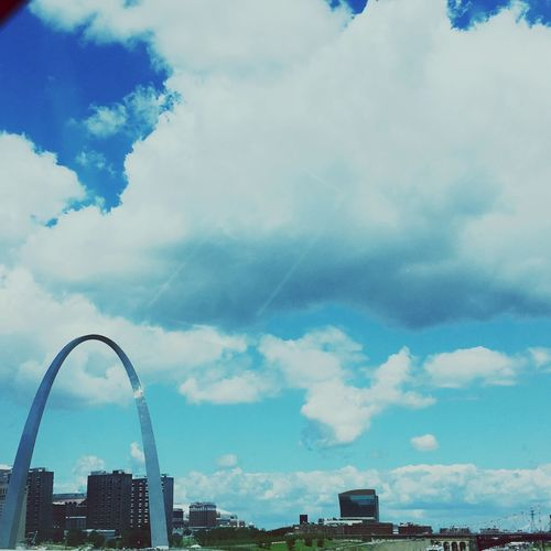 My Favorite Place Stlouis Arch Gatewayarch Missouri Missouri River Buildings Buildings & Sky Sky And Clouds Clouds
