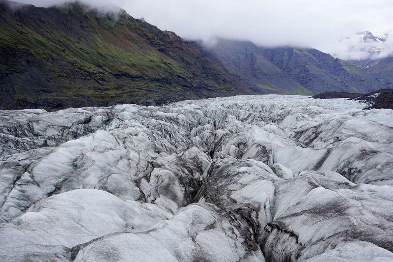 Glaciar Iceland Svínafellsjökull Glacier Beauty In Nature Day Landscape Mountain Nature No People Outdoors Scenics Skaftafell Skaftafellsjökull Sky Svínafellsjökull