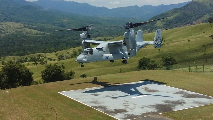 Military Aircraft MarineCorps Osprey Flying