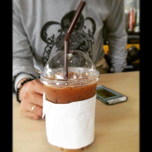 กาแฟเย็นเช้าๆ ร้านเปิดใหม่ อร่อยมั๊ย ?ตอบเลยว่า ไม่ !!!!!