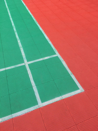 Sport Track And Field Outdoors Close-up Playing Field Dividing Line Competition Net - Sports Equipment No People Tennis Empty Court