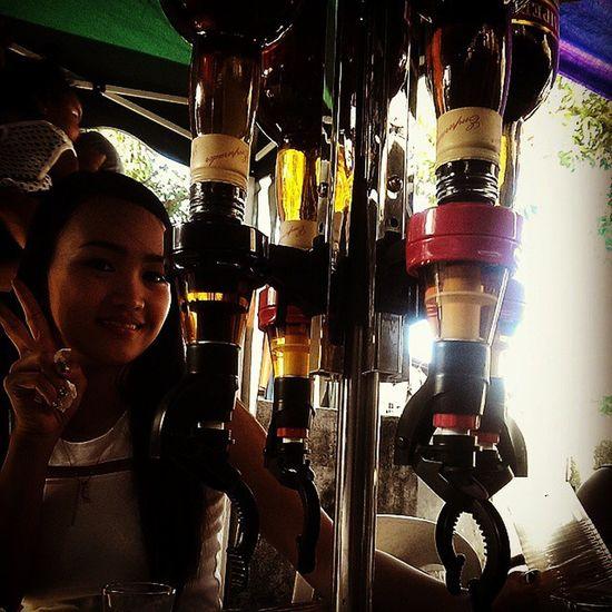 Cool despenser ! Liquor brandy Philippines EmperadorLight