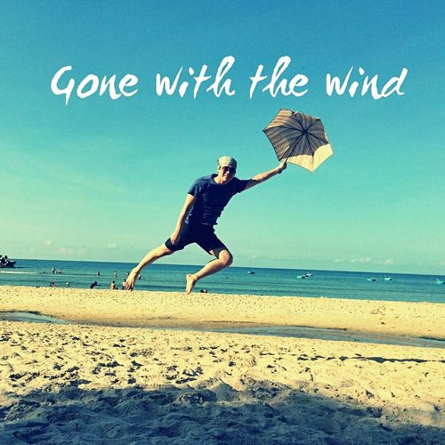 Jumping;) Young Wild And Free(; That's Me Beach Photography I Like It <3