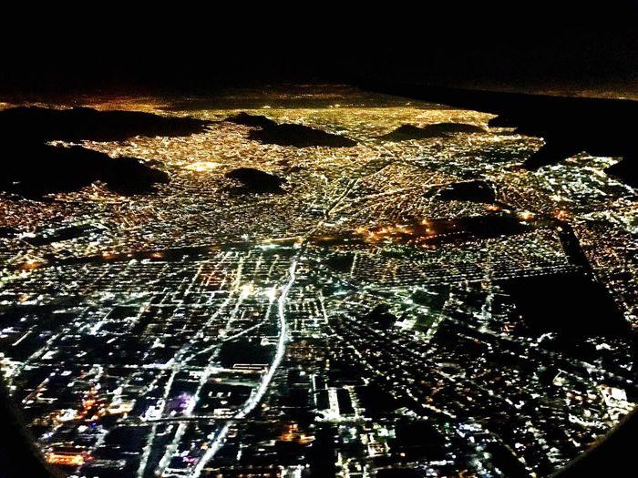 Mexico City Pulseoflife Seaoflights Illuminated Travel Destinations Night