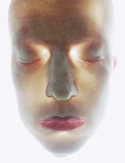 Sci-Fi exhibition @stegi_occ Human Face Human Nose Human Skin Portrait Robot Humanoid Robot Science Fiction Artificial