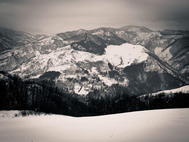 San Benedetto In Alpe Emiliaromagna EyeEmNewHere Blackandwhite Black And White Monochrome Dualtone Mountain Range Bnw Mountain Landscape Snow Scenics Winter No People Cold Temperature Outdoors Village