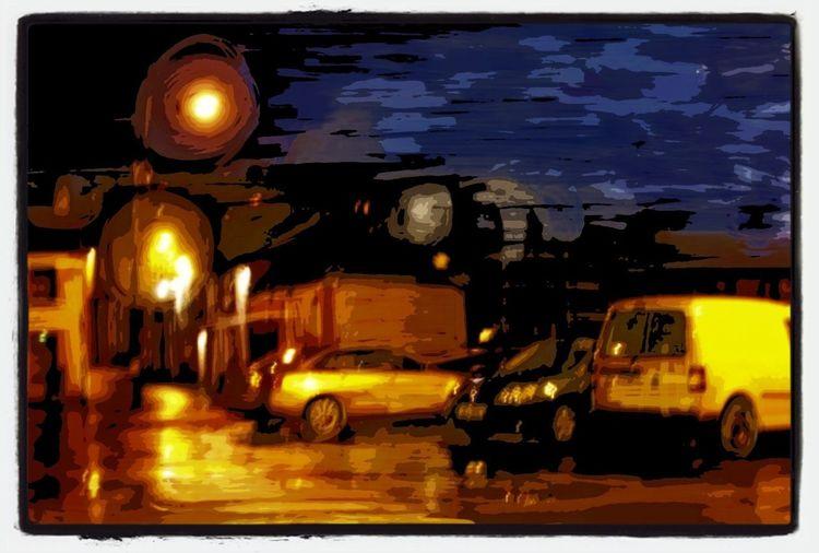 Van Gogh night