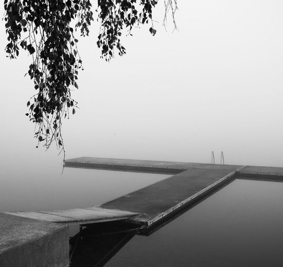 I like all those misty days when nature changes its shape Calmwater Foggy Day MADE IN SWEDEN Minimalism Misty Morning