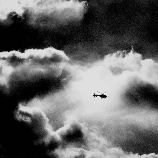 helper in need w/ drama sky Blackandwhite Clouds And Sky Helicopter