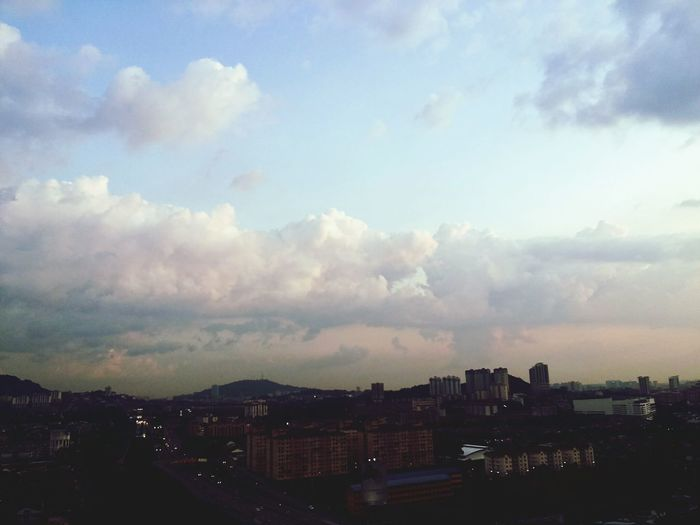 Senja  Skyporn Salammaghrib