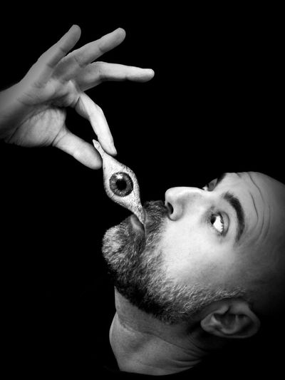 Breakfast at Dali's... Portrait Darkart Surrealism AMPt_community Shootermag Conceptual Noir Blackandwhite