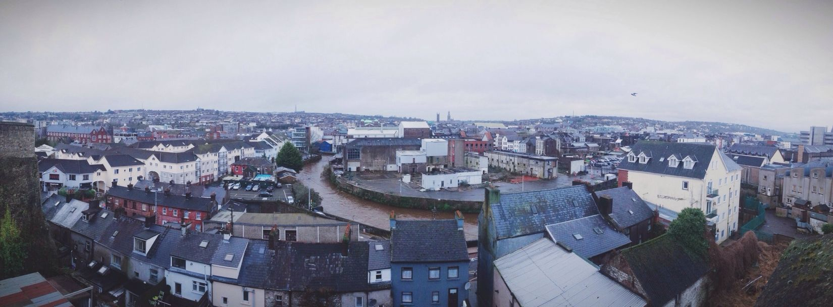 Cork City Vscocam IPhoneography Cityscapes City View  Panoramic Photography Panoramic Ireland🍀