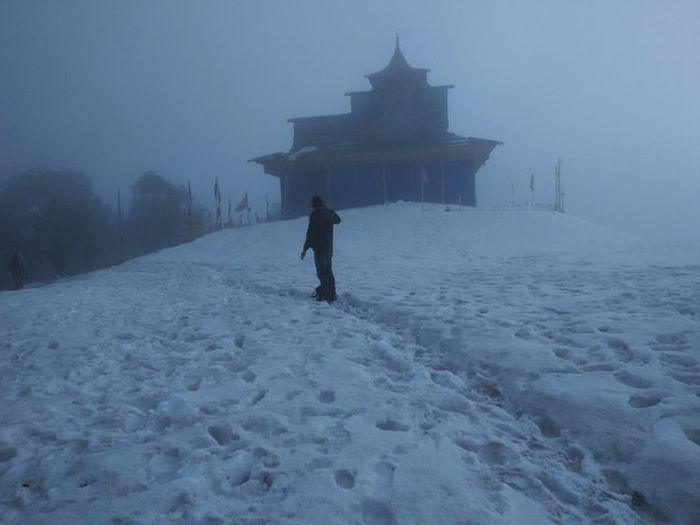Hatu temple Hatu Temple Hatupeak Snow Snowtrek Narkanda Trekking Himachal Himalayas Dost 3400mtrs