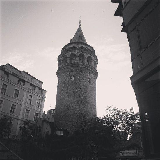 Istanbul Turkey Galata Tower Beyoğlu Galata EyeEm Best Shots Eye4photography  Streetphotography Blackandwhite Photography Blackandwhite
