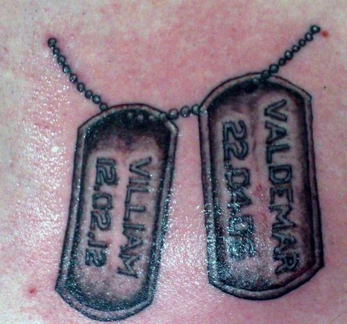 Me Ink Dogtags